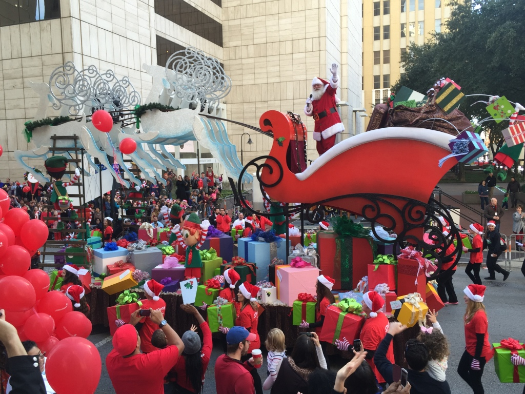 childrens medical center holiday parade